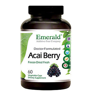 Emerald Labs Acai Freeze Dried, 60 ct