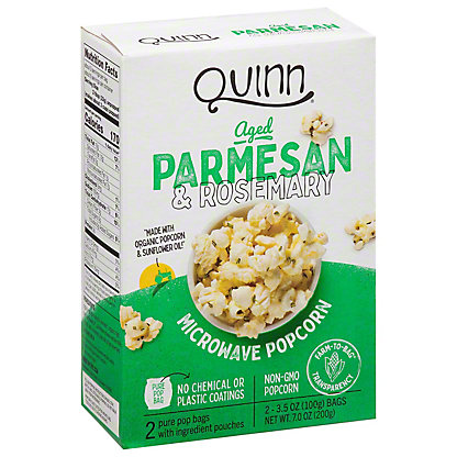 Quinn Parmesan & Rosemary Popcorn, 2 ea