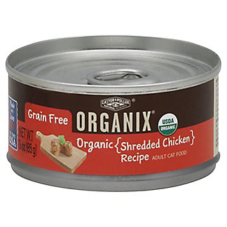 Castor & Pollux Organix Shredded Chicken Cat Food, 3 oz