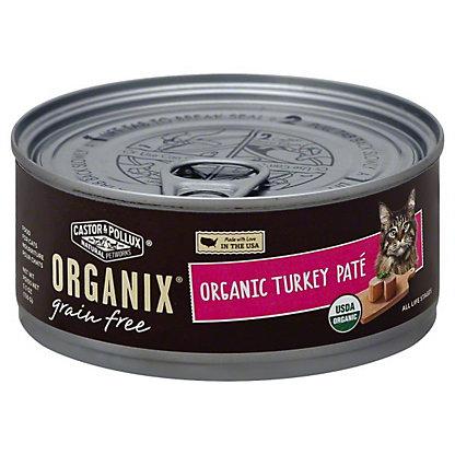 Castor & Pollux Organix Turkey Pate Cat Food, 5.5 oz