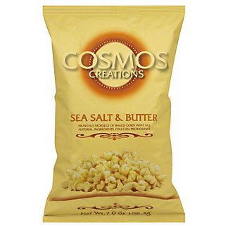 Cosmos Creations Sea Salt and Butter Baked Corn,7 OZ