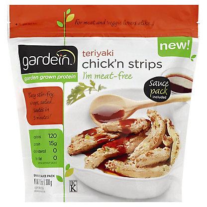 Gardein Gardein Teriyaki Chick'n Strips Meat-Free,10.5 oz