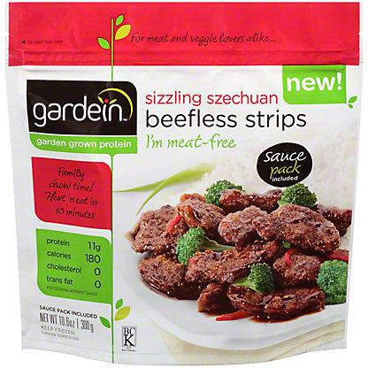 Gardein Gardein Sizzling Szechuan Beefless Strips,10.6 oz