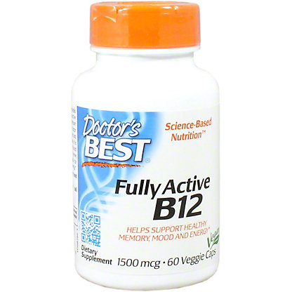 DR BEST FULLY ACTIVE B12 60CT