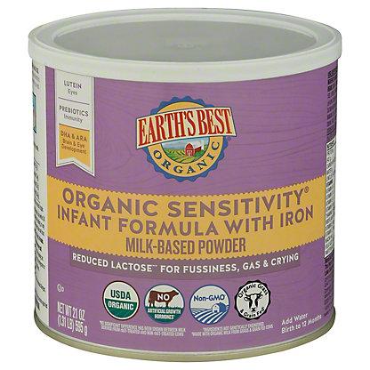 Earth's Best Organic Organic Sensitivity Infant Formula,23.2 OZ