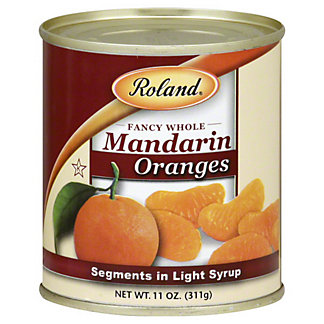 Roland Mandarin Orange Segments In Light Syrup,11OZ