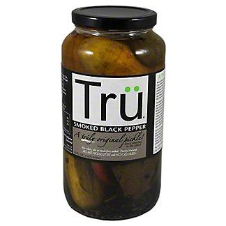 Tru Pickles Smoked Black Pepper, 32 OZ