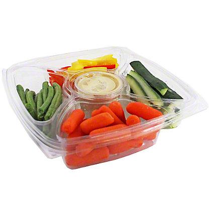 Central Market Crudites & Hummus, EACH