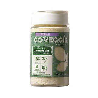 Go Veggie Vegan Grated Parmesan Topping, 4 oz