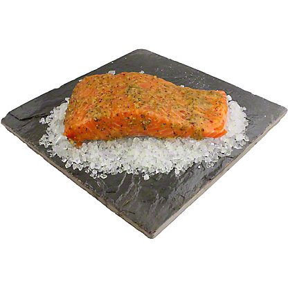 Central Market Chipotle Lime Salmon Fillet, LB