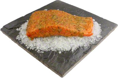 Central Market Chipotle Lime Salmon Fillet LB