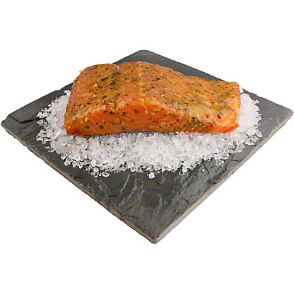 Central Market Lemon Rosemary Salmon Fillet, LB