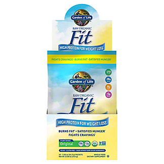 Garden of Life Raw Fit High Protein for Weight Loss, 10 CT