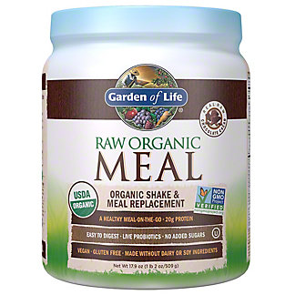 Garden Of Life Raw Organic Chocolate Meal Replacement, 17.9 oz