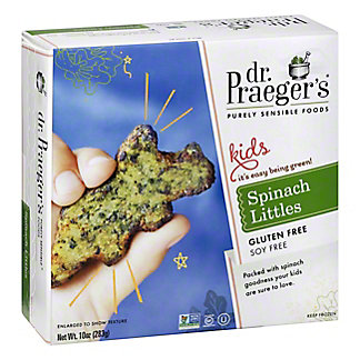 Dr. Praeger's Sensible Foods Kids Spinach Littles,12 OZ