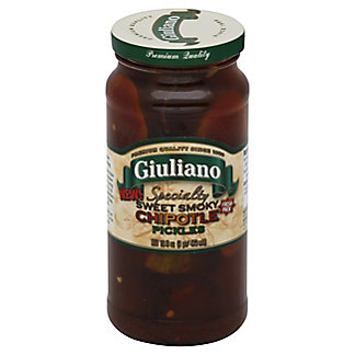 Giuliano Sweet Smoky Chipotle Pickles,16 OZ