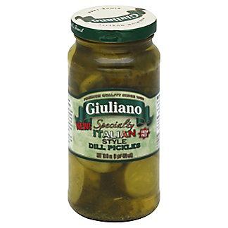 Giuliano Pickles Italian Style Dill,16 OZ