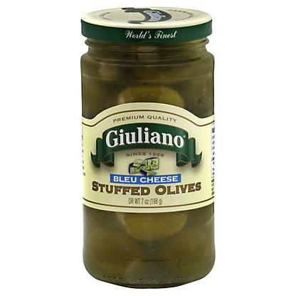 Giuliano Olives Blue Cheese Stuffed,7 OZ
