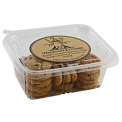 Wackym's Kitchen Salted Caramel Chocolate Chip Cookies,8 OZ
