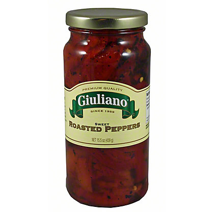 Giuliano Giuliano Peppers Sweet Roasted,15.50 oz