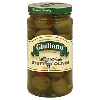 Giuliano Martini Olives,7 OZ