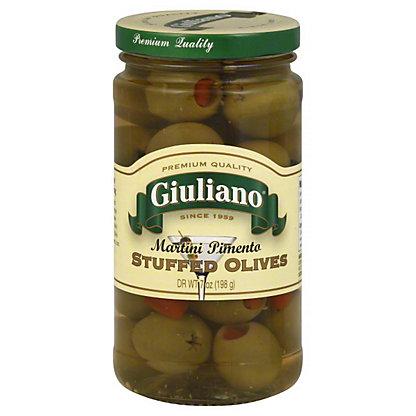 Giuliano Martini Olives,7 OZ