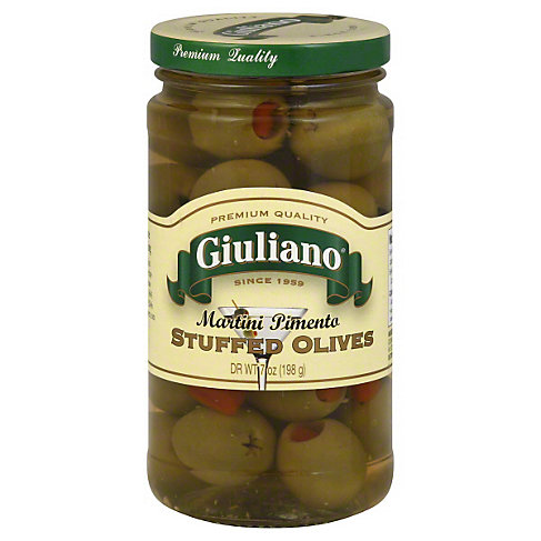 Giuliano Martini Olives, 7 OZ