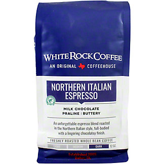 White Rock Coffee Northern Italian Espresso, 12 oz