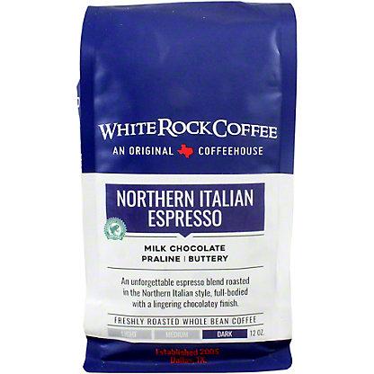 White Rock Coffee Northern Italian Espresso, 12 oz