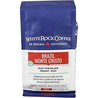 White Rock Coffee Brazil Monte Cristo, 12 oz