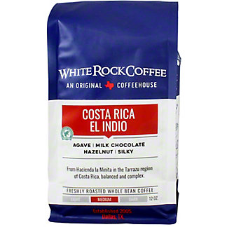 White Rock Coffee Costa Rica El Indio, 12 oz