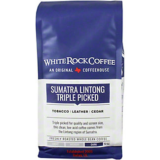 White Rock Coffee Sumatra Mandheling, 12 oz