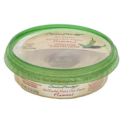 Central Market Hatch Chile Pepper Hummus, 10 oz