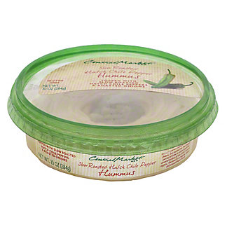 Central Market Hatch Chile Pepper Hummus, 10 oz