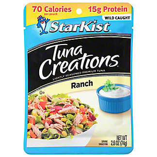 StarKist Tuna Creations Ranch Chunk Light Tuna, 2.60 oz
