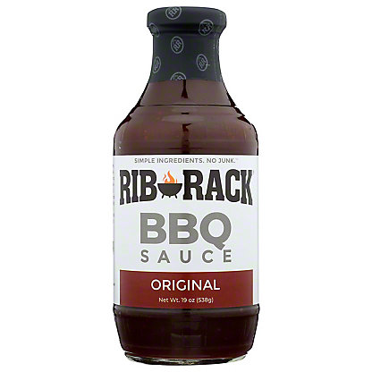 Rib Rack Original BBQ Sauce,19 OZ