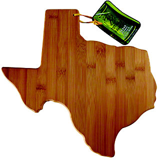 Totally Bamboo Texas Cutting and Serving Board, EACH