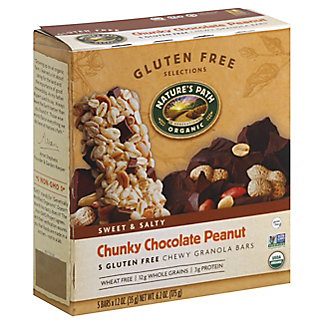Nature's Path Chunky Chocolate Peanut Chewy Granola Bar,5 CT