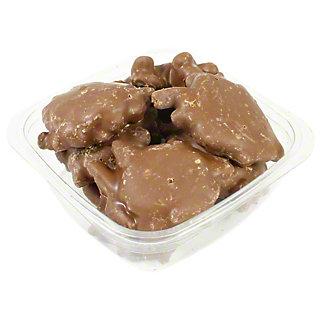 Milk Chocolate Pecan Caramel Turtle,LB