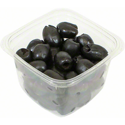 Divina Pitted Greek Ripe Black Olives, Sold by the pound