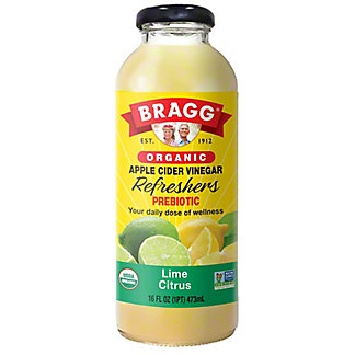 Bragg Organic Apple Cider Vinegar Drink - Limeade, 16 oz