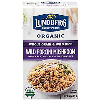 Lundberg Wild Porcini Mushroom Organic Whole Grain Rice and Wild Rice,6 OZ