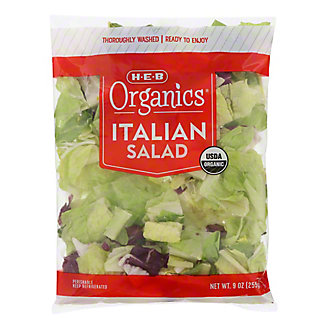 H-E-B Organics Italian Salad, 10 oz