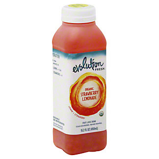 Evolution Fresh Organic Strawberry Lemonade,15.2OZ