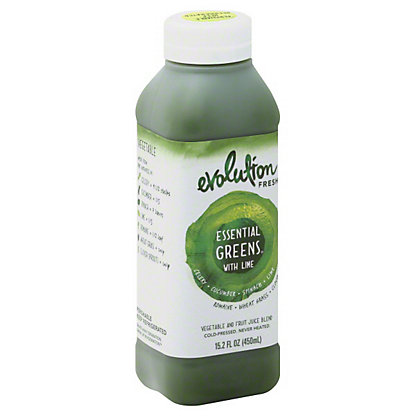 Evolution Fresh Essential Greens With Lime Juice,15.2OZ