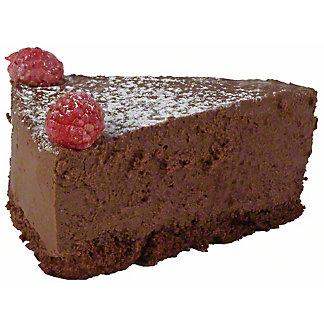 Central Market Chocolate Raspberry Truffle Cake Slice, ea
