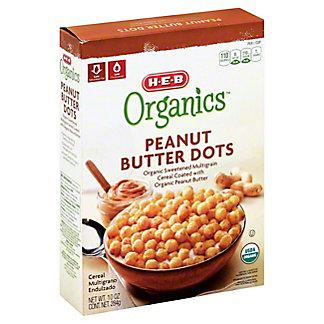 H-E-B Organics Peanut Butter Dots,10 OZ