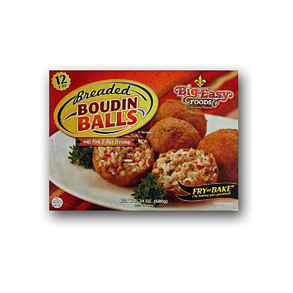 Big Easy Foods Boudin Balls,24 OZ