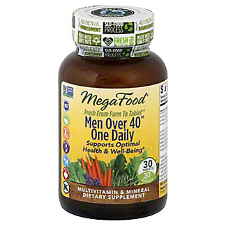 Megafood Men's Over 40 One Daily Multivitamin Tablets, 30 ct