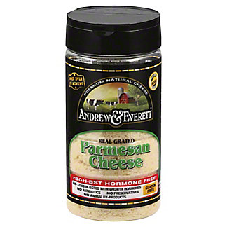 Andrew & Everett Grated Parmesan Cheese,7 oz